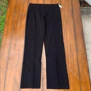 White Black Women's Black Pants Size 6
